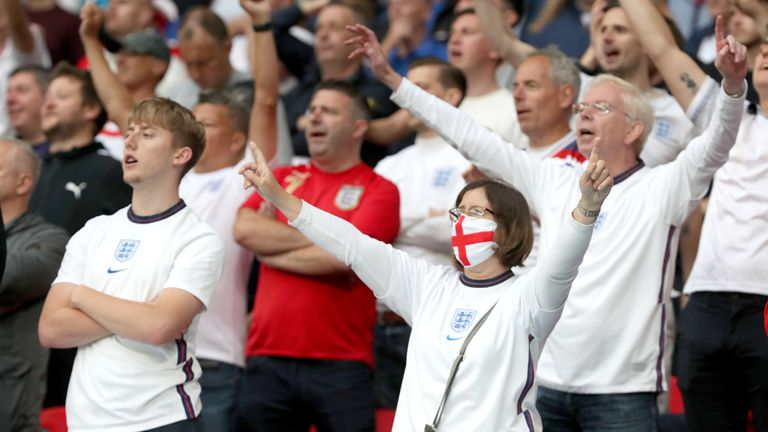 England were cheered out by a racous crowd at Wembley, as the progressed to the quarter-final