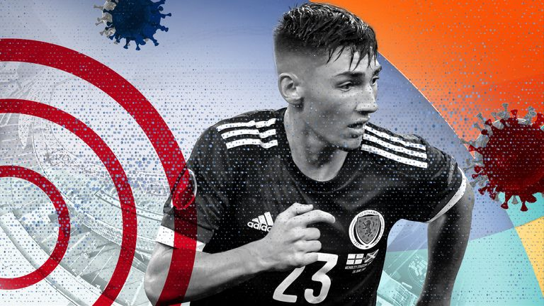 Scotland's Billy Gilmour tested positive for COVID