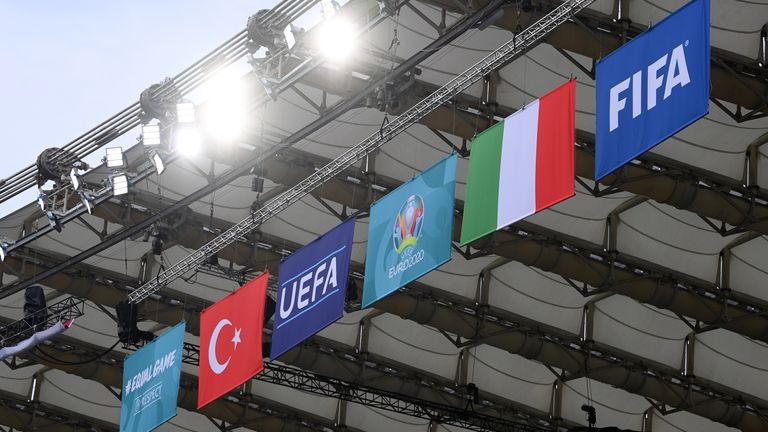 Italy take on Turkey in the opening game of EURO 2020
