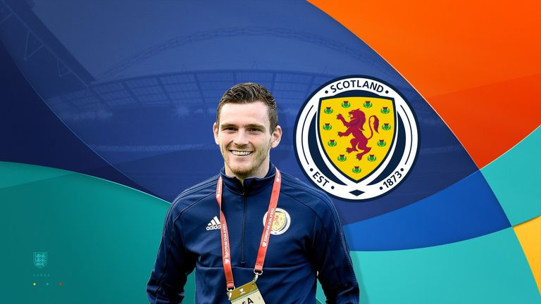 Andy Robertson is Scotland captain