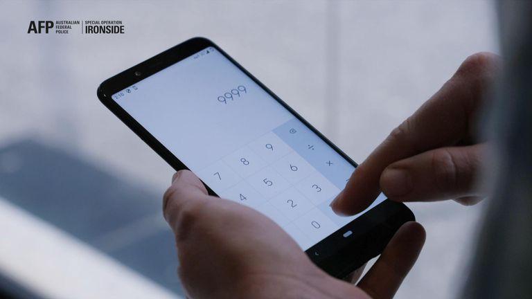 Phone app sting snares criminal gangs
