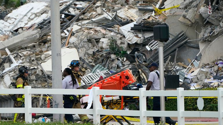 The search for survivors is ongoing as more than 50 people remain unaccounted for