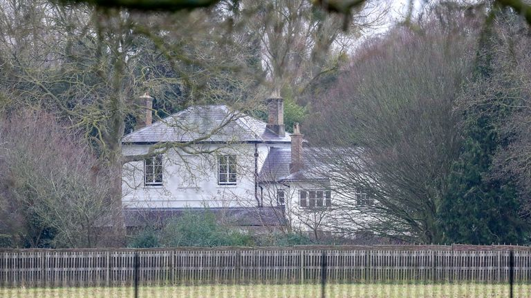 Frogmore Cottage, where the Duke and Duchess of Sussex lived