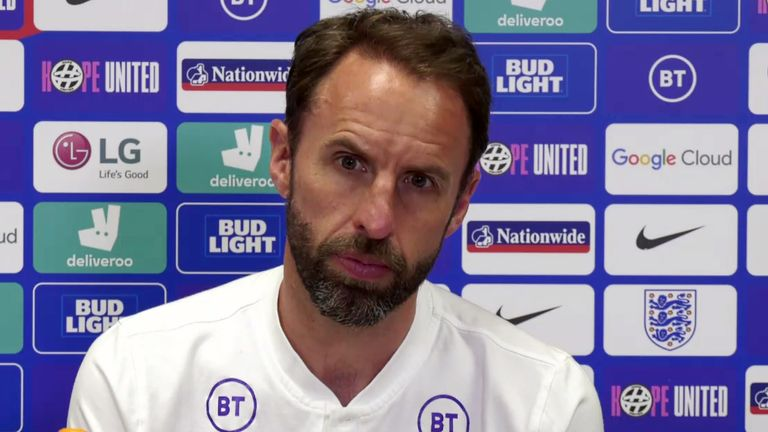 Gareth Southgate said the team was 'collectively really disappointed' about the booing