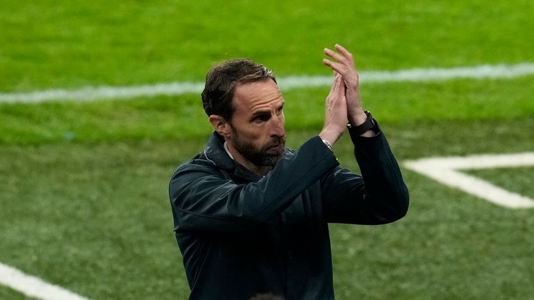 Gareth Southgate has said he accepts the reaction of the fans