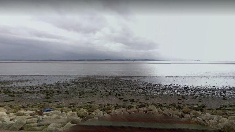 A Google Streetview image of the banks of the Humber at North Ferriby, near to where Samantha Class's body was found in 1997