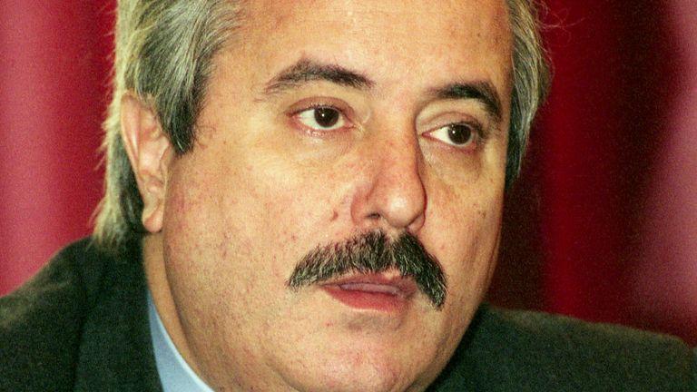 This Feb. 1992 file photo shows prosecutor Giovanni Falcone. File pic: AP
