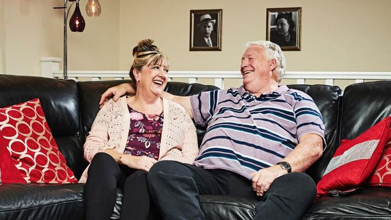 Gogglebox star Pete McGarry has passed away. Pic: Channel 4