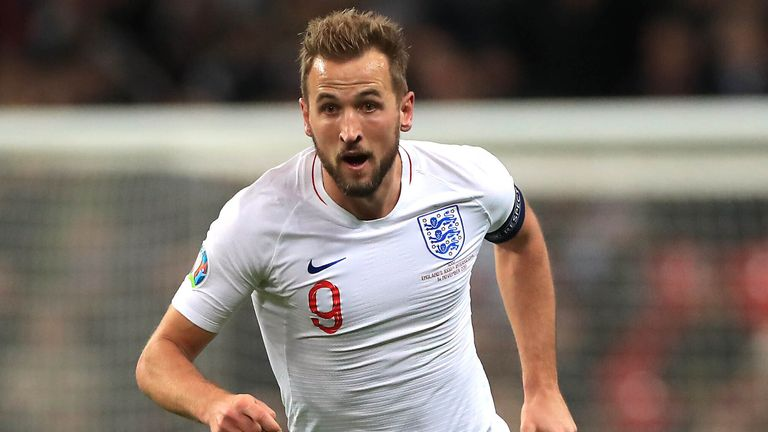 Harry Kane will lead England's attack during the tournament