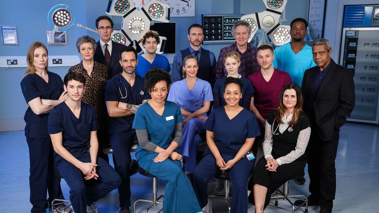 Holby City is coming to an end. Pic: BBC/Kieron McCarron