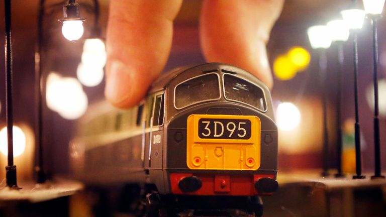 File photo dated 23/02/2014 of a Hornby Class 29 model train