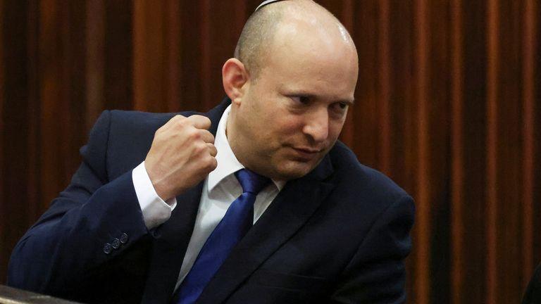 Naftali Bennett will serve as prime minister for two years