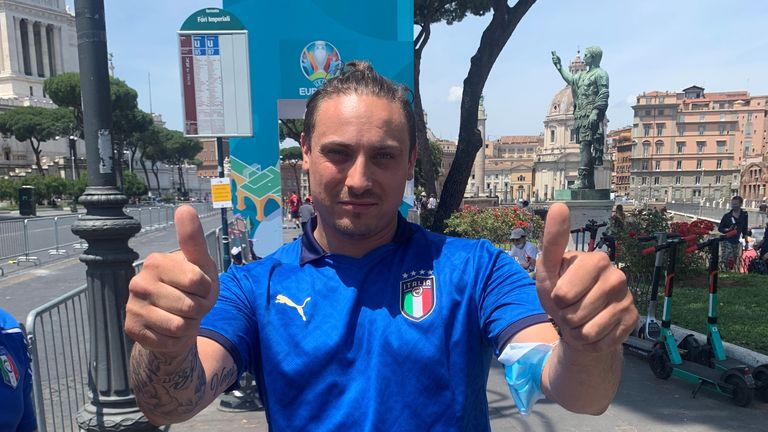 Patrick Miccoli will be cheering on Italy at this summer's tournament