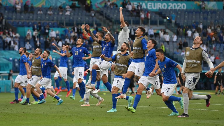 Italy topped the group with three wins and three clean sheets