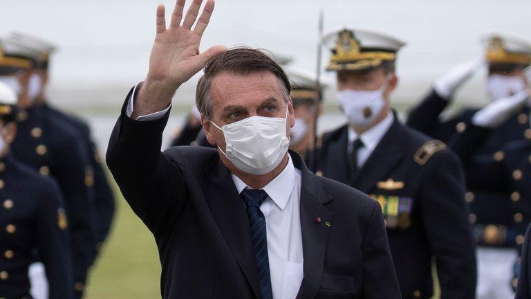 Il presidente Jair Bolsonaro è stato ampiamente criticato per la sua gestione della pandemia