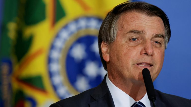 Mr Bolsonaro does not have a great record of protecting the Amazon