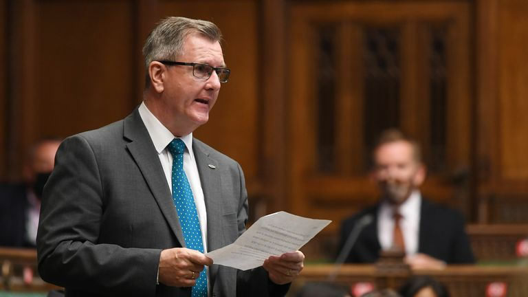 Sir Jeffrey Donaldson is emerging as a contender to become the next First Minister of Northern Ireland.