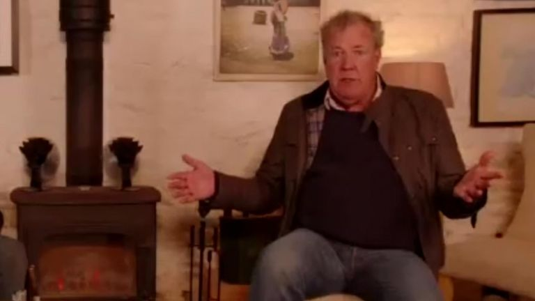Jeremy Clarkson says he gets 'shouted at all the time'.