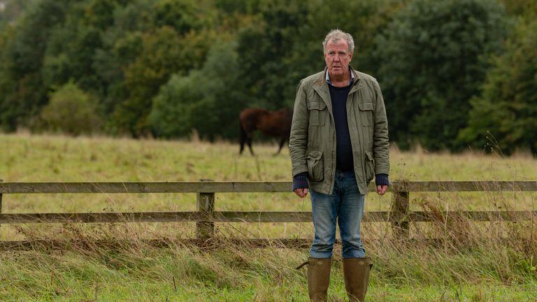 Jeremy Clarkson in Clarkson's Farm. Pic: Amazon Prime Video