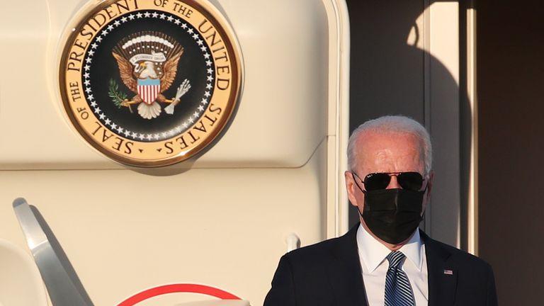 Joe Biden says the US is 'not seeking conflict with Russia'