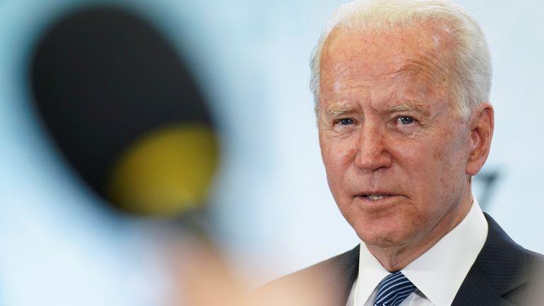 Joe Biden will be meeting Vladimir Putin on Wednesday