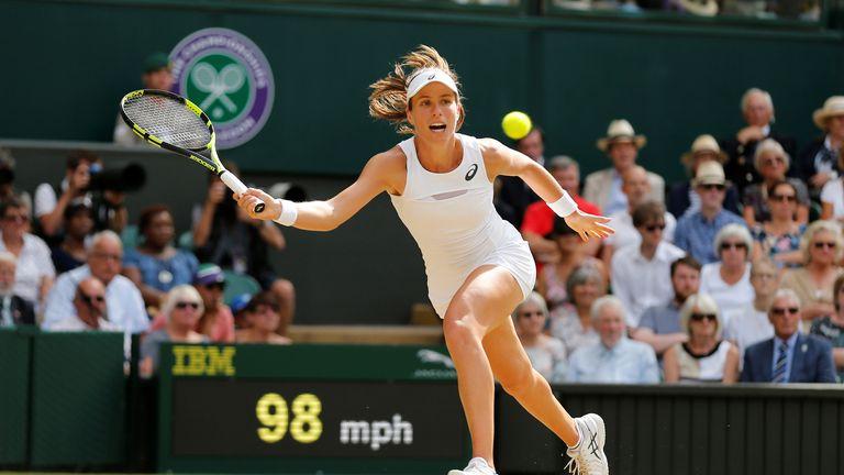 Johanna Konta reached the semi-finals of Wimbledon in 2017