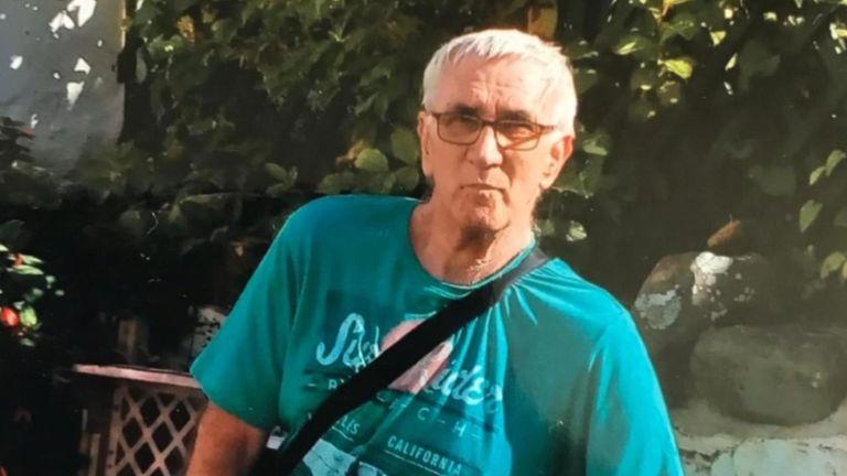 Lyndsay Allison's 76 year-old father-in-law, John