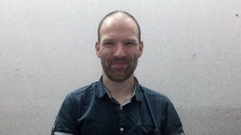 دکتر جاناتان کوپر ناک یکی از نویسندگان مطالعه بیماری نورون حرکتی است