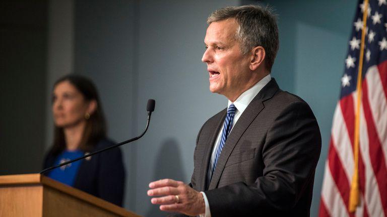 Attorney General Josh Stein. Pic: AP