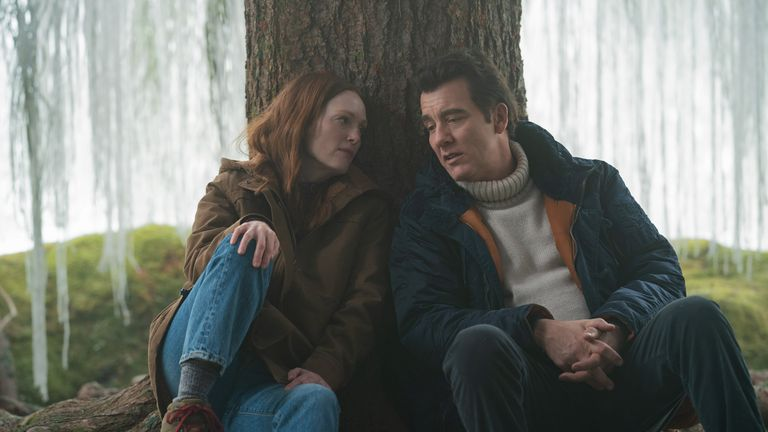 """Episode 4. Julianne Moore and Clive Owens in """"Lisey's Story,"""" premiering June 4 on Apple TV+."""
