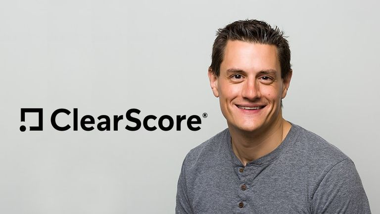 Justin Basini, co-founder and CEO of ClearScore Pic: ClearScore