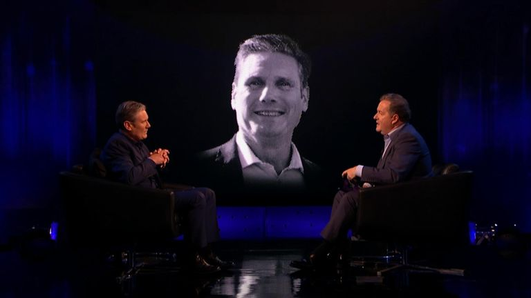 The were speaking on Piers Morgan's Life Stories. Pic: ITV