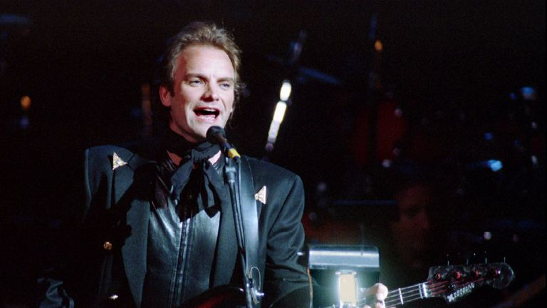 Sting taught Kevin Anderson in Northumberland before gaining fame as the lead singer of The Police