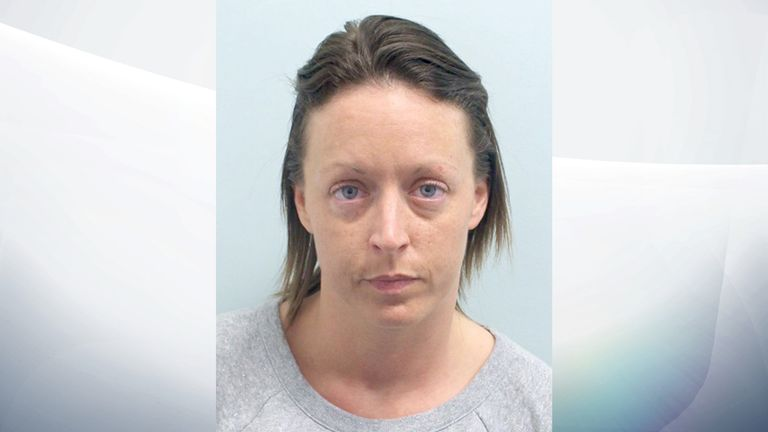Kirsty Nicolls, 35, of Northolt, Middlesex, also admitted offences. Pic issued by the National Crime Agency