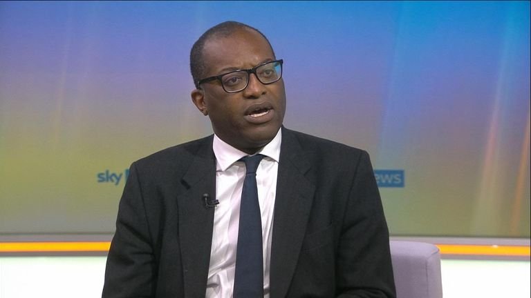 Business Secretary Kwasi Kwarteng says it's 'unlikely' full lockdown restrictions will be lifted before 19 July across England.