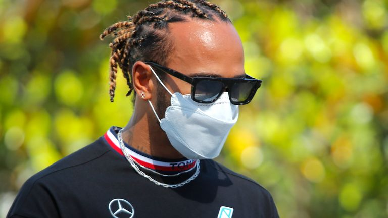 Lewis Hamilton has come out in support of Osaka
