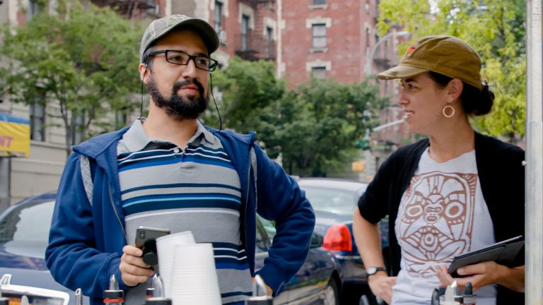Lin-Manuel Miranda is the brains behind In The Heights. Pic: Warner Bros Studios
