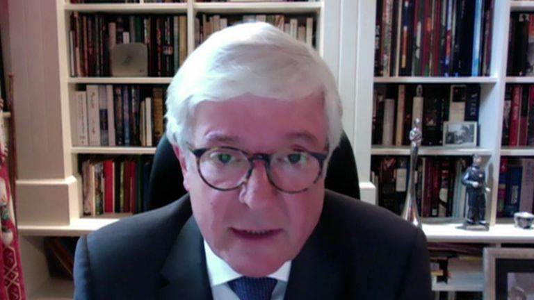 Fomer BBC Director-General Lord Tony Hall