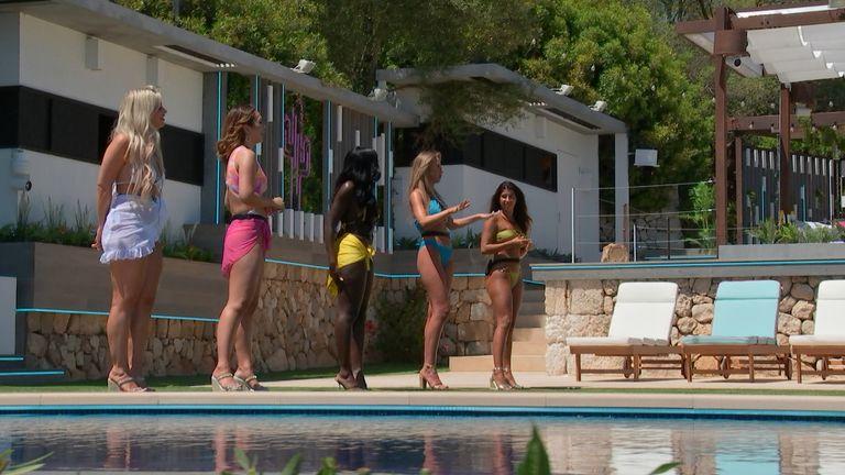 Love Island 2021 contestants get ready to couple up. Pic: Lifted Entertainment/ITV
