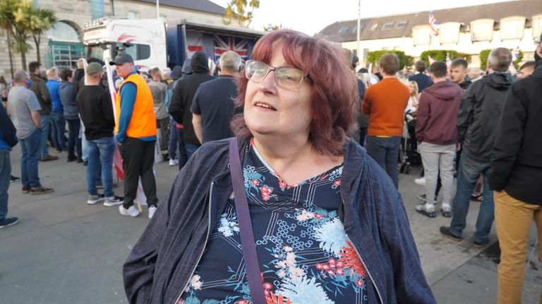 Heather Ramsay said the unionist community is 'feeling very alone'
