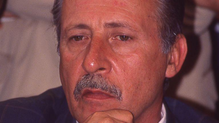 Italian judge Paolo Borsellino