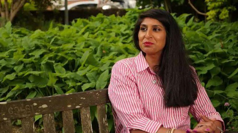 Divya Chadha Manek was clinical trials lead on the vaccine taskforce
