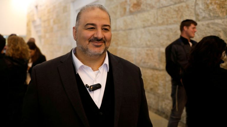 Mansour Abbas's influence could be key on the Palestinian issue