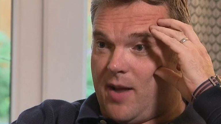 Matthew O'Toole was assisted by an unknown woman when he suffered a stroke in London