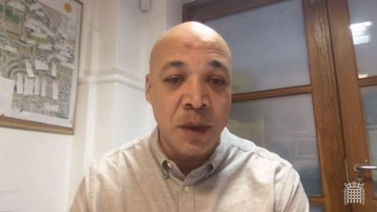 Matthew Phillip, chief executive of Notting Hill Carnival Ltd,