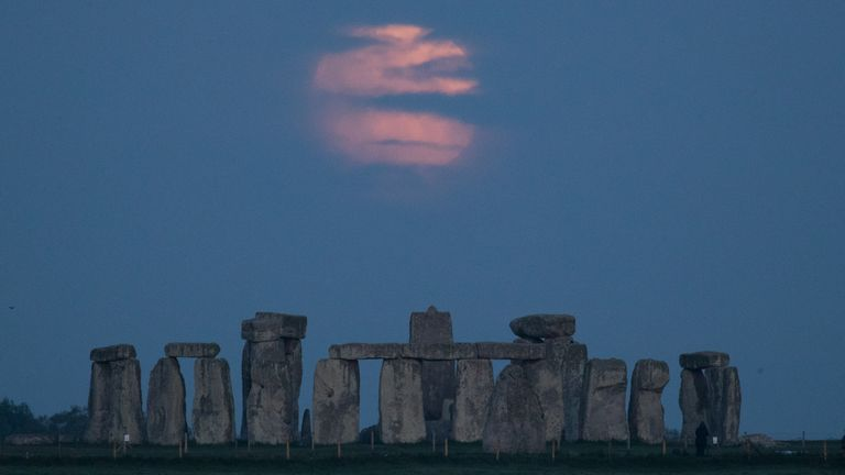 May's supermoon was obscured by clouds in some areas