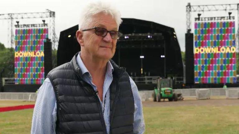 Melvin Benn, managing director of Festival Republic