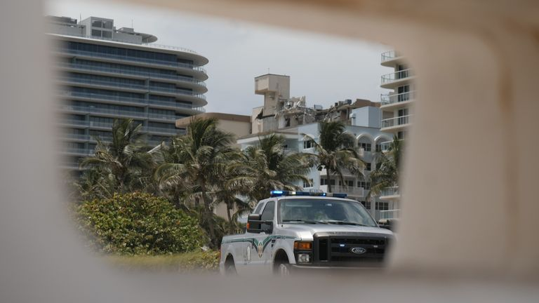 Residents of nearby buildings want to know if they are safe