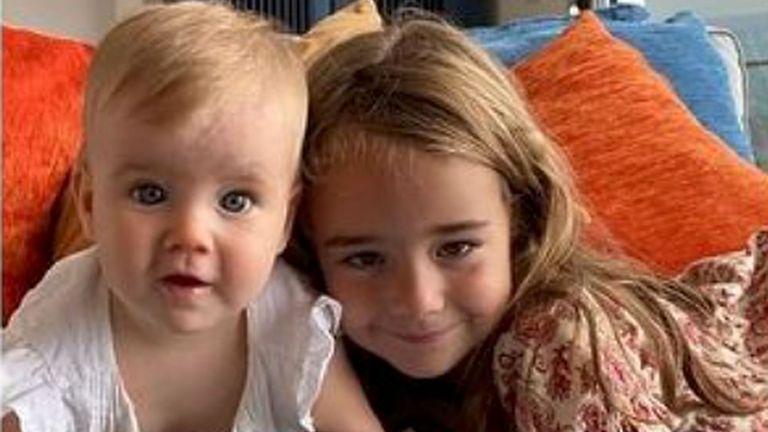 Olivia Gimeno and one-year-old Anna