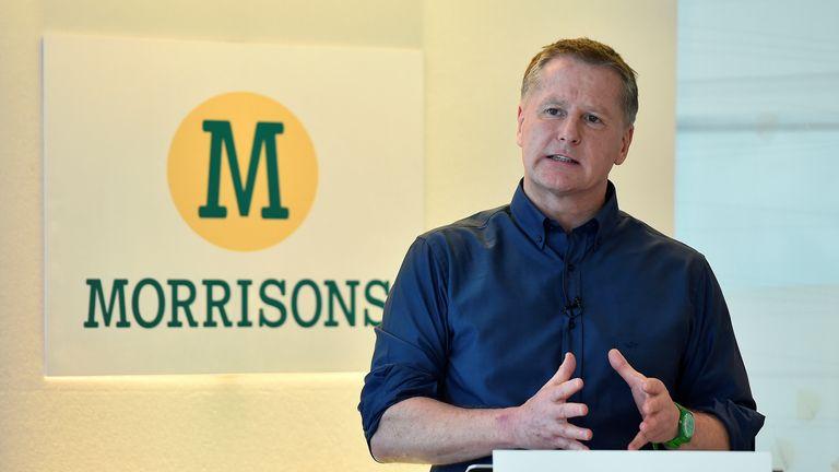 David Potts, chief executive of Morrisons